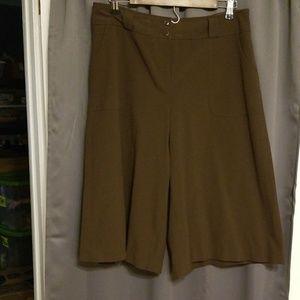 Talbots gaucho pants size 12